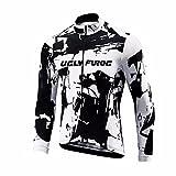 Uglyfrog Männer Radfahren Langarm Radfahren Jersey Frühling eine Menge Farben Antislip Ärmel Cuff Road Bike MTB Top Riding Shirt KTM