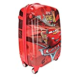 Best Disney Bags For Travels - Humty Dumty Cars Polycarbonate Red Suitcase - Kids Review