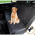 hantajanss Luxury Dog Seat Cover,Nonslip Waterproof Easy Cleaning Car Large Back Seat Pet Covers Hammock for Cars… 10