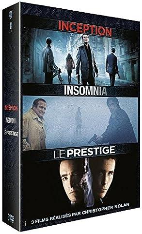 3 films réalisés par Christopher Nolan: Inception + Insomnia +