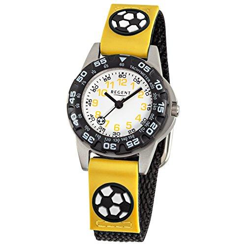 regent-bracelet-enfant-horloge-fashion-analogique-bracelet-textile-noir-jaune-quartz-cadran-blanc-ur