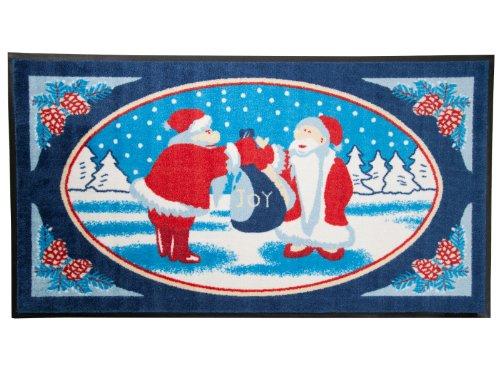 Use & Wash-Felpudo navideño Edición