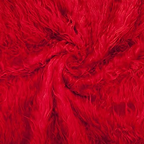 Neotrims Tissu Fausse Fourrure, Effet Laine de Mouton,Photographie, Fat squares (50 x 40cm). Pour Photographie Artisanat & Vêtements. 16 Couleurs Superbes, Naturelles & Vives. Prix de Gros