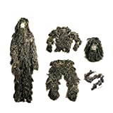 ESYN Tactical Camouflage Woodland 3D Bionic Sniper Training - Best Reviews Guide
