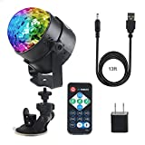 Best BBQ Parts Outlets - Newthinking Disco Ball Party Light Sound Activated LED Review