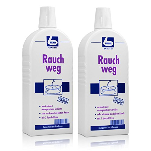 2x Dr. Becher Rauch weg 500 ml - neutralisiert unangenehme Gerüche