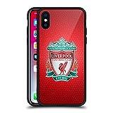 Head Case Designs Officiel Liverpool Football Club Rouge Pixel 1 Crête 2 Noir Coque...