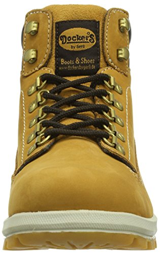 Dockers by Gerli 331532-003093 Herren Hohe Sneakers Gelb (golden tan  093)