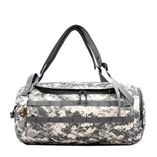 Outdoor Tactical Military Camouflage Reise Umhängetasche Große Sport Armee Tasche Männliche Turnhalle Handtasche Gray Camo