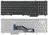 QWERTY-Tastatur für Dell Latitude E5520 E5530 E6520 E6530 E6540 Precision M4600 M4700 M4800 M6600 M6700, OEM, Schwarz
