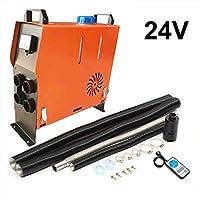 gaeruite Calentador de Aire Diesel 5KW 12V / 24V, máquina Todo en uno Calentador de estacionamiento del Monitor LCD para Camiones de autobuses