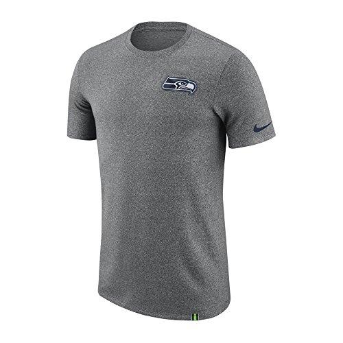 Nike NFL Seattle Seahawks Marled Patch Dri-Fit T-Shirt