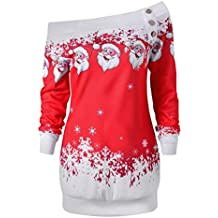 231ec22f126 Amazon.fr   robe noel femme - Rouge