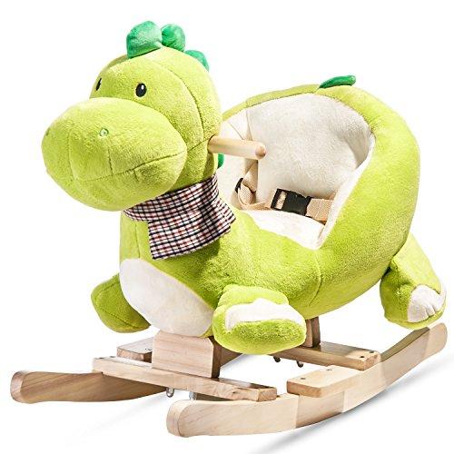 Merax® Schaukeltier- Kinder und Baby Schaukelpferd, spezieller Schaukelstuhl für Kinder (Drache)