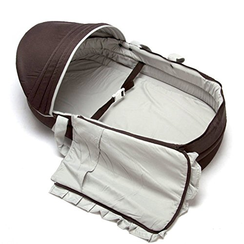 LINAG Baby Reisebett Krippe Portable Faltbare Travel Bed Bassinet Babybett Tragbares Wiege Bequem Schlafkorb Multifunktionale