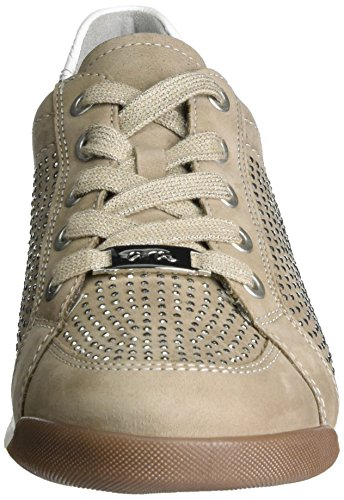 Ara - Rom, Sneaker a collo alto Donna Beige (Taupe,weiss)