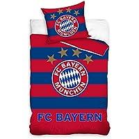 FC Bayern München Fußball Bettwäsche BMFC171003 140x200cm