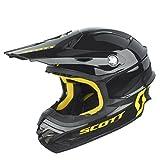 Scott 350 Pro MX Enduro Motorrad / Bike Helm schwarz/gelb 2016: Größe: XXL (63-64cm)