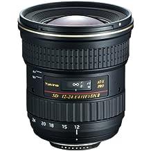 Tokina AT-X 124 PRO DX II Nikon - Objetivo (13/11, 12 - 24 mm, 1 Negro