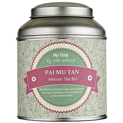 My Time–Thé Blanc Pai Mu Tan Bio 65g | First Flush | handgepflückt avec de nombreux délicates bourgeons