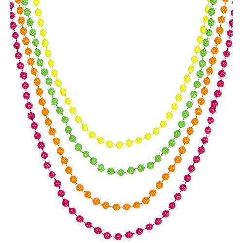 Schmuck Company Kostüm Trading - Widmann - Bunte Perlenkette
