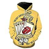 Pokerkarten 3D gedruckt Hip Hop Hoodie Männer/Frauen Streetwear Harajuku Trainingsanzüge Langarm Sweatshrts Photo Color XL