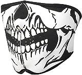 More Care Striking Skull Neoprene Half Face Mouth Mask Ski Snowboard Motorcycle Protection