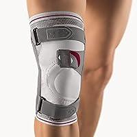 Bort Asymmetric® Plus Kniebandage, silber XL plus links preisvergleich bei billige-tabletten.eu