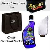 Meguiar NXT Shampoo G12619 / Waschhandschuh X3002 / Weihnachts Geschenktüte