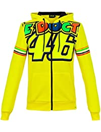 Valentino Rossi VR46 Woman The Doctor 46 Full Zip Hoodie 2018