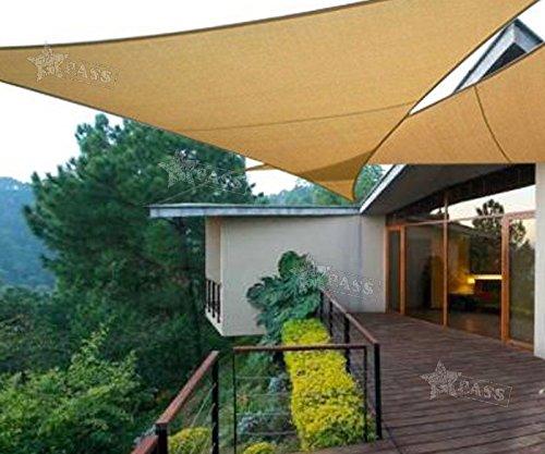 Preisvergleich Produktbild Generic ca Garten Park ING Himmel Sail Terrasse Garde 3 x 3 x 3 m PU beschichtet Block IL Pat Vorzelt Himmel Shelter UV-DE Sail Terrasse GA Sonne Schatten