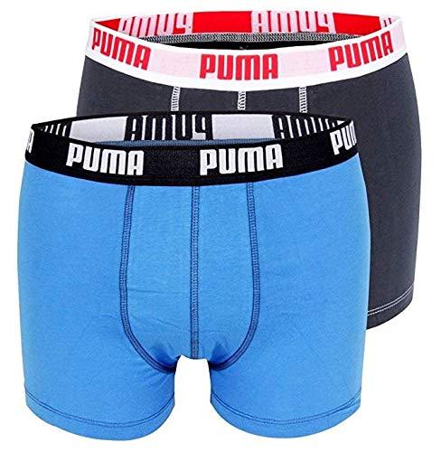 Puma 2er Pack Herren Boxershorts Bunt Größe S