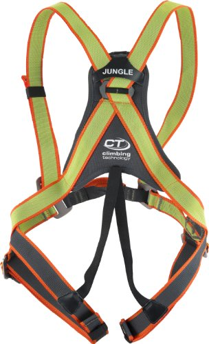 Climbing Technology Jungle Imbracatura Completa per Bambini, Verde