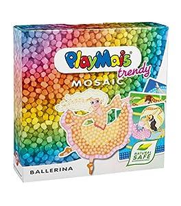 PlayMais Juego de Manualidades 160500 Trendy Mosaic Bailarina