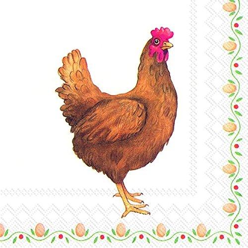 edda-huhn-henne-ostern-eier-ostern-papier-3-lagig-servietten-33-cm-lunch-quadratisch-20-in-einer-pac