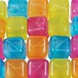 20 Party Eiswürfel aus Plastik Würfeleis Eis Coktailzubehör Würfel Kühlakku Neu (2 x 20er Set)