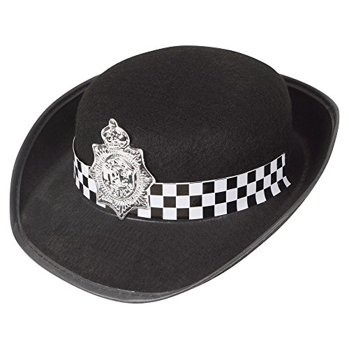 Police Hat Ladies WPC Officer Womens Fancy Dress Hat
