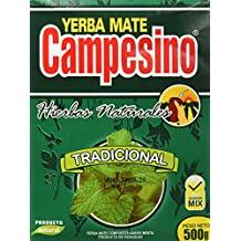 Goya Yerba Mate Campesino Hierba Natural - 5 Paquetes de 500 gr - Total: 2500