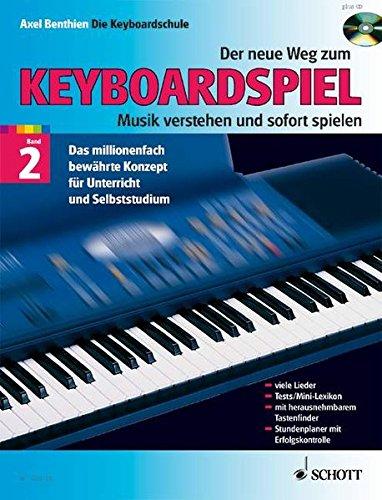 Der neue Weg zum Keyboardspiel, Bd. 2, m. Audio-CD