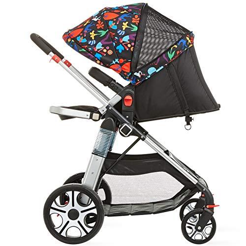 ALIFE Kinderwagen Leichtgewicht Von Geburt an Falten Kinderwagen Kinderreisebuggy Reha-Buggys