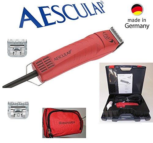 Rotschopf24Edition: Aesculap Tosatrice GT105/Favo Rita testina 5/FAV 5con 2schneidsätzen = 1,5mm + 3mm. 43818