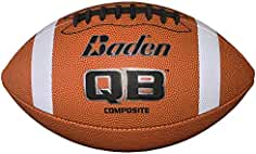 Baden F100 Junior American Football Moulded Cover Training Practice Rugby Ball
