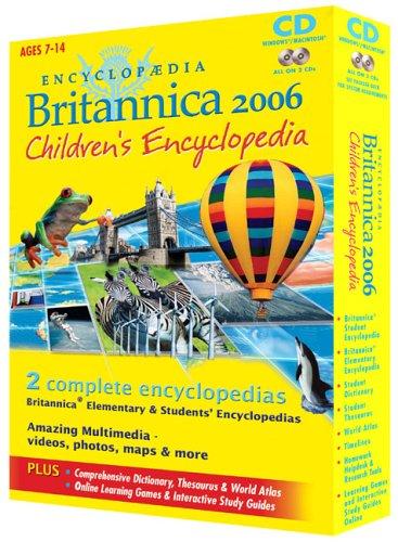 Encyclopaedia Britannica 2006 Children's Encyclopedia CD Test