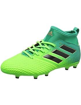 Bota de fútbol adidas jr Ace 17.3 Primemesh FG Solar green-Core black