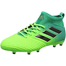 hot sale online d8fcf 87284 Adidas Ace 17.3 Fg J, Scarpe per Allenamento Calcio Unisex – Bambini, Verde  (