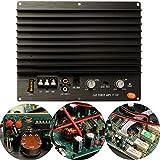 LaDicha Haut-Parleur De Subwoofer Hi-Fi Haute Puissance 200W 12V Subwoofer Amp Module...