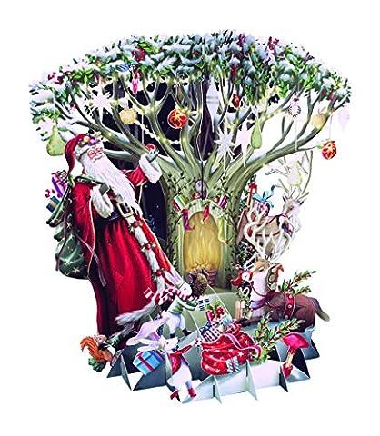 Papier d 'Art Weihnachten Cards–Frohe Weihnachten–