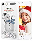 Best Amis iPod Touch 5 Cases - wlooo Noël Coque pour iPod Touch, Glitter Xmas Review
