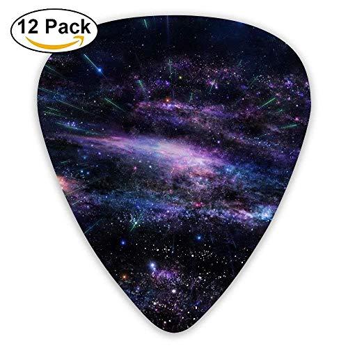 Star Cluster Space Universe Explosion Science Fantasity Guitar Pick 12pack Medium Soft Case