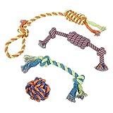 Juguetes de Cuerda para Cachorros, Perros Pequeños y Grandes (x 4) |...